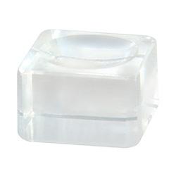Стеклянный куб для клея и краски NOVEL
