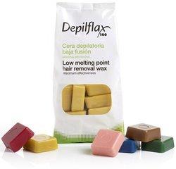 Горячий воск Depilflax 1 кг (в ассортименте)