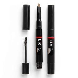 Механический карандаш для бровей 2 в 1 Lic