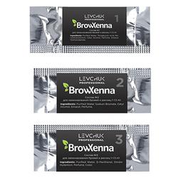 Состав для ламинирования бровей и ресниц BrowXenna (саше 1,5 мл)