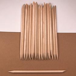 Палочки для воска (апельсиновые) №2 (100 шт)