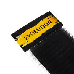 Evolution черные ресницы МИКС (20 линий) изгиб C,D