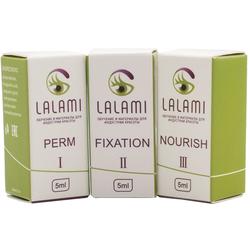 Составы для ламинирования ресниц LALAMI PRO в баночках (5 мл)