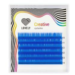 Ресницы лазурные (azure) Lovely MINI - 6 линий - MIX
