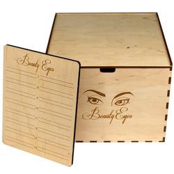 Лэшбокс Beauty Eyes деревянный на 10 планшетов