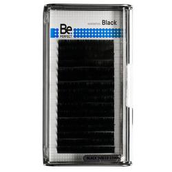 Чёрные ресницы Be Perfect Black (16 линий)