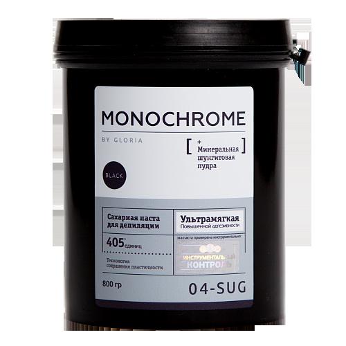 Сахарная паста для шугаринга MONOCHROME by GLORIA 0,8 кг