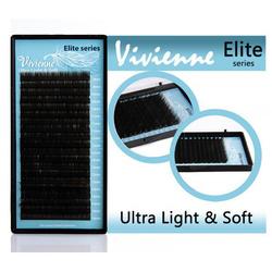Vivienne Elite ресницы чёрные (МИКС) изгиб C, C+, CC, D, L, L+, B