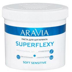 "Паста для шугаринга ARAVIA Professional ""SUPERFLEXY Soft Sensitive"", 750 гр"