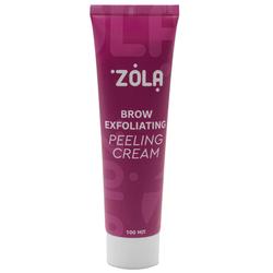 Крем-скатка для бровей ZOLA Brow Exfoliating Peeling Cream 100 мл
