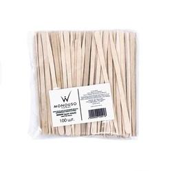 Мини-шпатели деревянные для лица ItalWax (100 шт.)